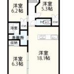 新築【マンション】ベイフロント(4階中部屋3LDK)
